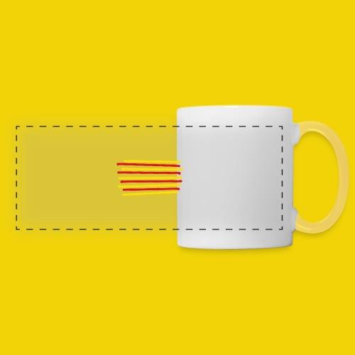 Catalonia Scratch - Panoramic Mug