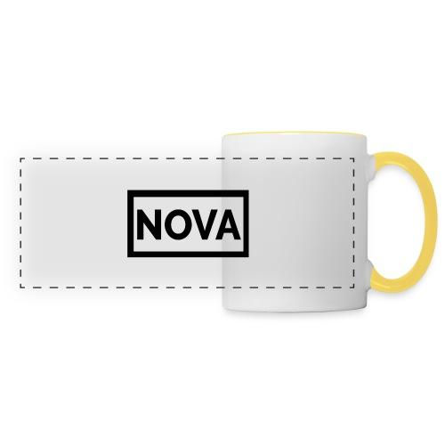 Red Nova Snapback - Panoramic Mug