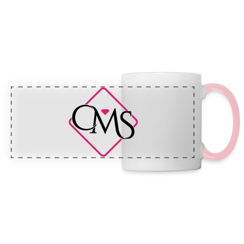Tasse Check My Style - Mug panoramique contrasté et blanc