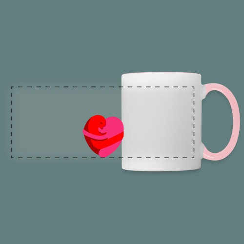 hearts hug - Tazza con vista