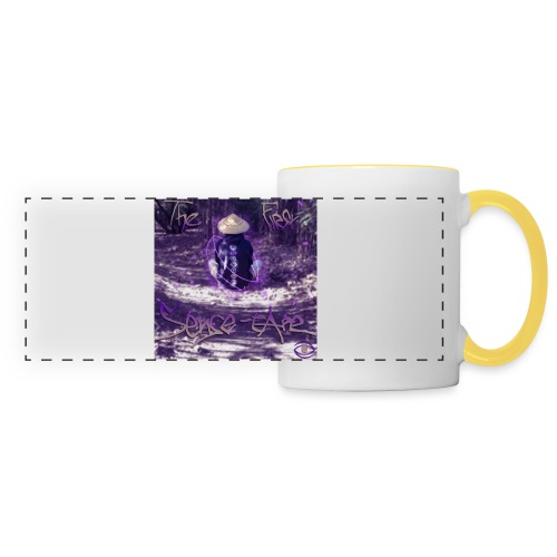 the first sense tape jpg - Panoramic Mug