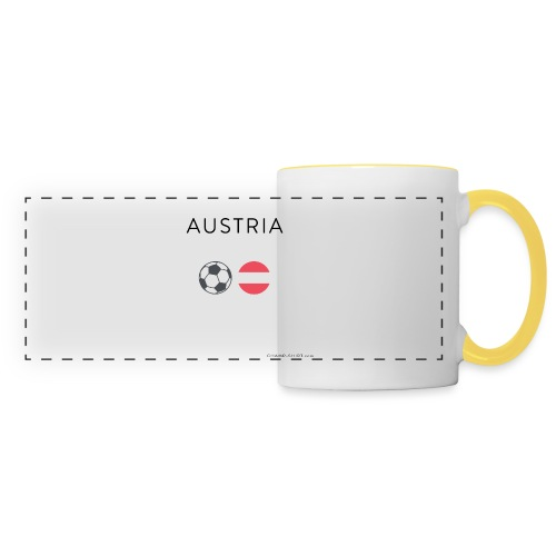 Austria Fußball - Panoramatasse