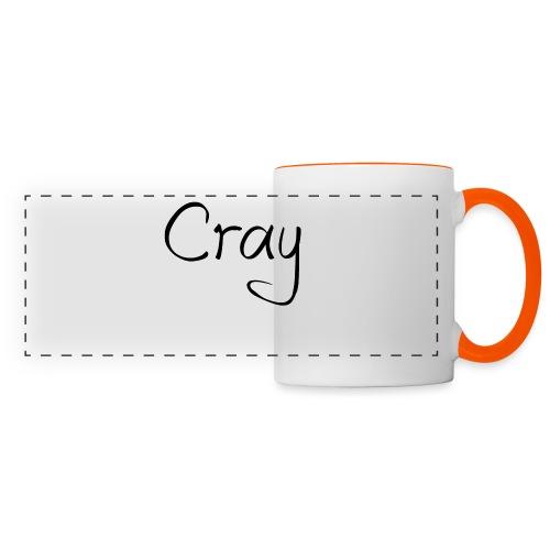 Cray Black Schrifft - Panoramatasse