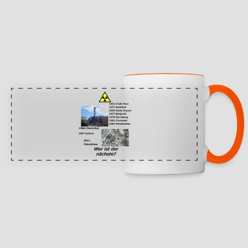 no nuclear button (German) Wer ist der Nächste? - Panoramic Mug