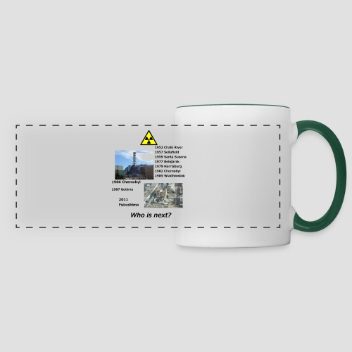 no nuclear button Who is next? - Panoramic Mug