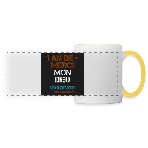 MMD - Mug panoramique contrasté et blanc