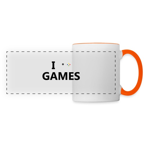 I Love Games - Taza panorámica