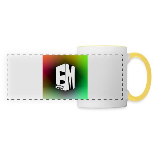 ElectroMetal_Logo - Panoramic Mug