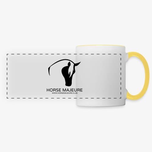 Horse Majeure Logo / Musta - Panoraamamuki