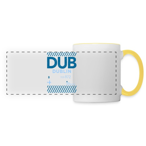 Dublin Ireland Travel - Panoramic Mug