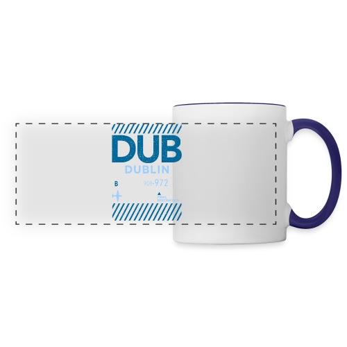Dublin Ireland Travel - Panoramic Mug