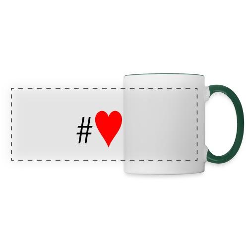 Hashtag Heart - Panoramic Mug