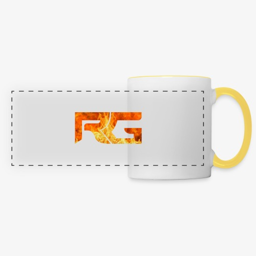 Revelation gaming burns - Panoramic Mug