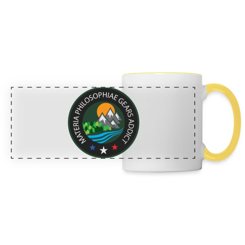 LOGO Materia Philosophiae 2017 - Mug panoramique contrasté et blanc