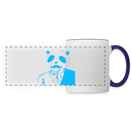 BluePanda Logo - Panoramic Mug