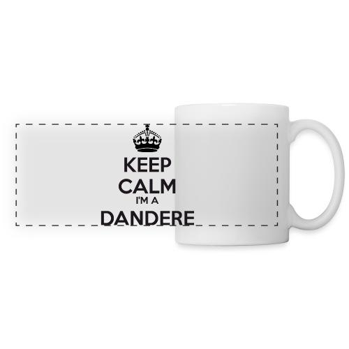 Dandere keep calm - Panoramic Mug