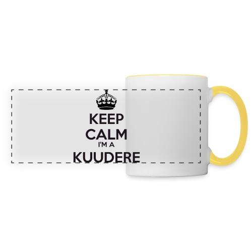 Kuudere keep calm - Panoramic Mug