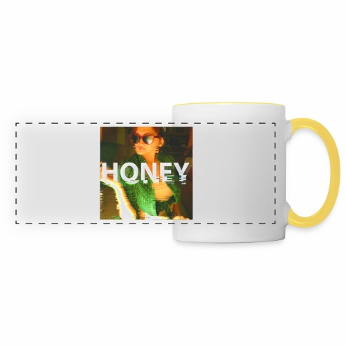 Honey - Mug panoramique contrasté et blanc