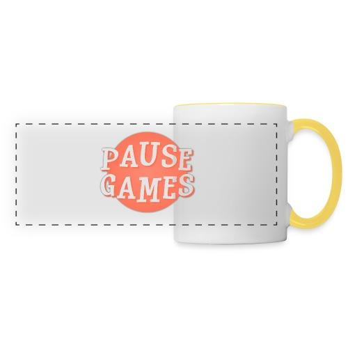 Pause Games Logo - Panoramic Mug