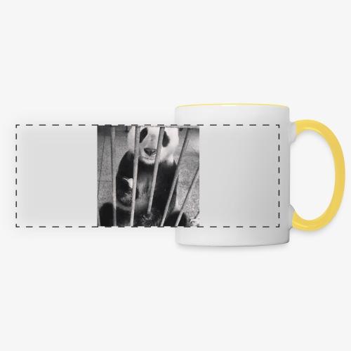 Pandazaki - Mug panoramique contrasté et blanc