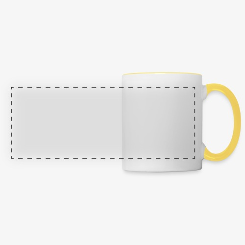 g on wheelchair - Panoramic Mug