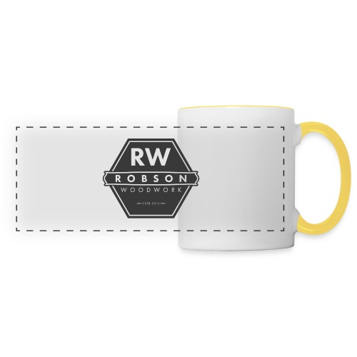 RW logo flat transparent original - Panoramic Mug