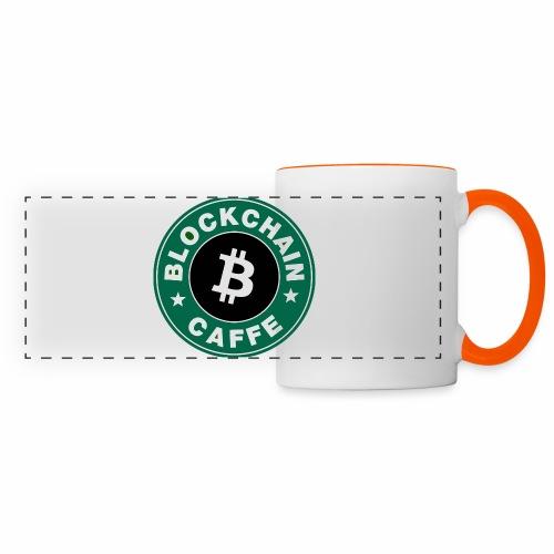 BlockChain Caffè Logo - Tazza con vista