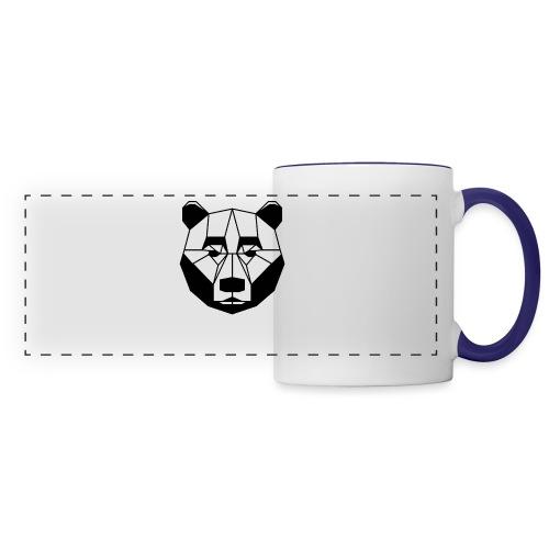 ours - Mug panoramique contrasté et blanc