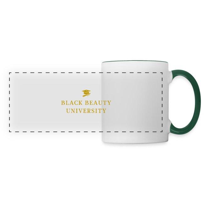 BLACK BEAUTY UNIVERSITY LOGO GOLD