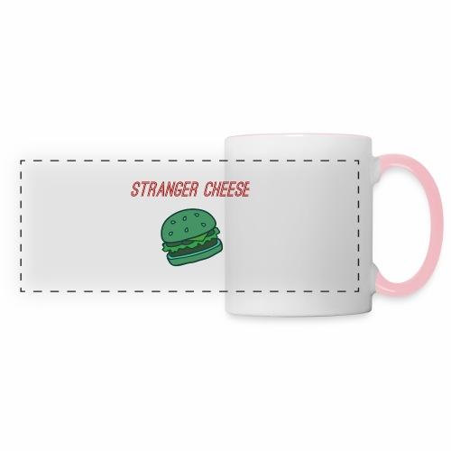 Stranger Cheese - Mug panoramique contrasté et blanc