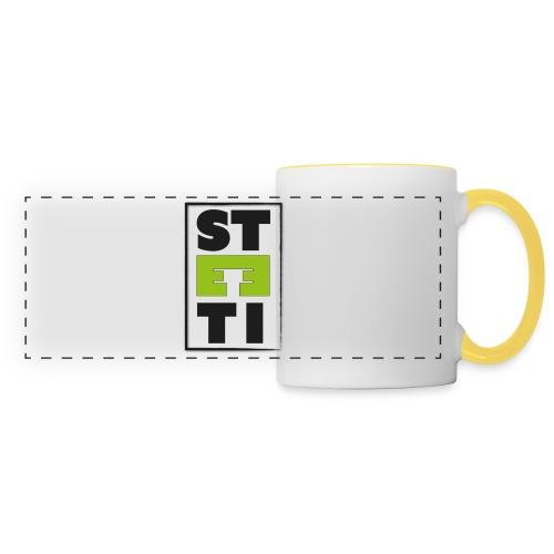Steeti logo - Panoramamugg