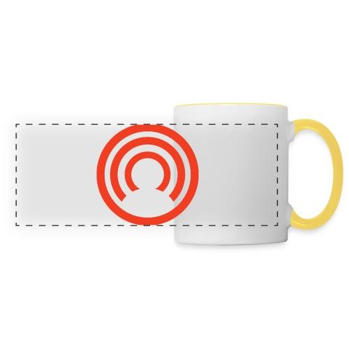 CloakCoin - Mug panoramique contrasté et blanc