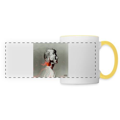 napalm cover - Mug panoramique contrasté et blanc