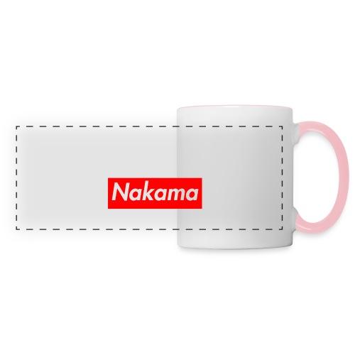 Nakama - Mug panoramique contrasté et blanc