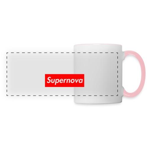 Supernova - Mug panoramique contrasté et blanc