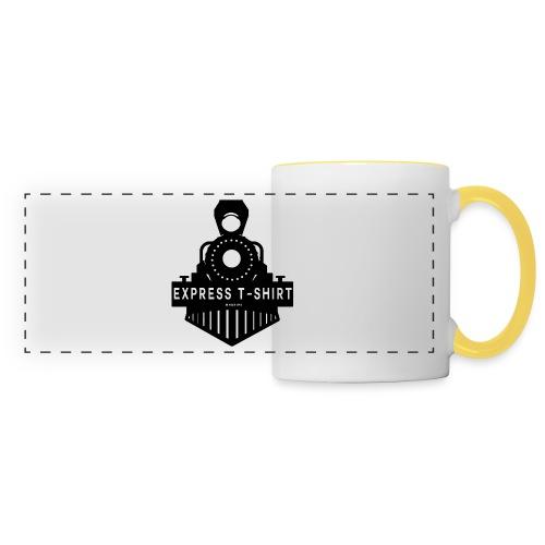 TRAIN EXPRESS T SHIRT - Mug panoramique contrasté et blanc