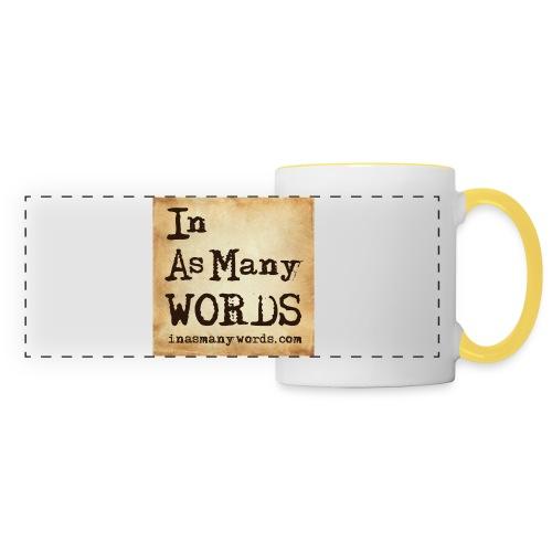 I AM Words LOGO_Brown - Panoramic Mug