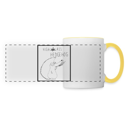 HIGH ASS HEDGEHOG - Panoramic Mug