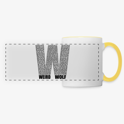 The Big W (Black) - Panoramic Mug