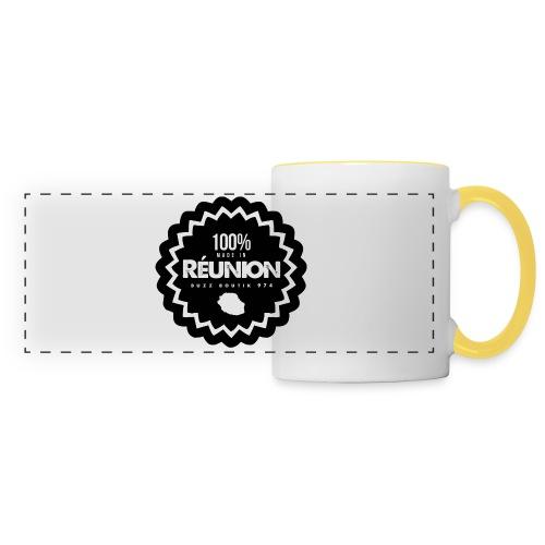Collection 100% MADE IN REUNION - Mug panoramique contrasté et blanc