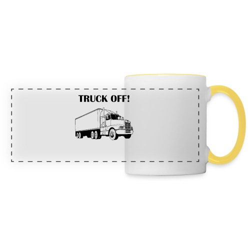 Truck off! - Panoramic Mug