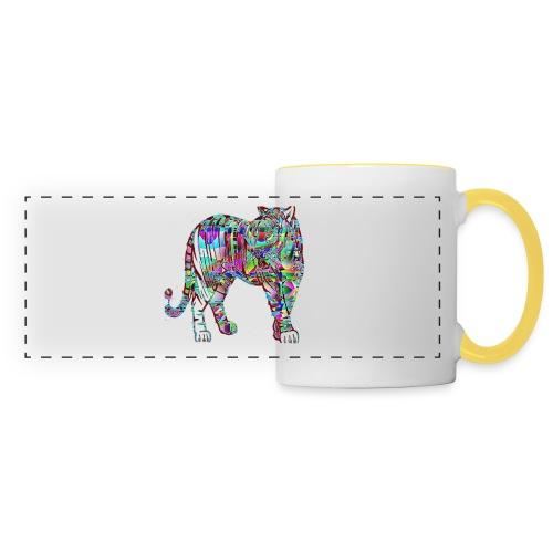 Tigre - Mug panoramique contrasté et blanc