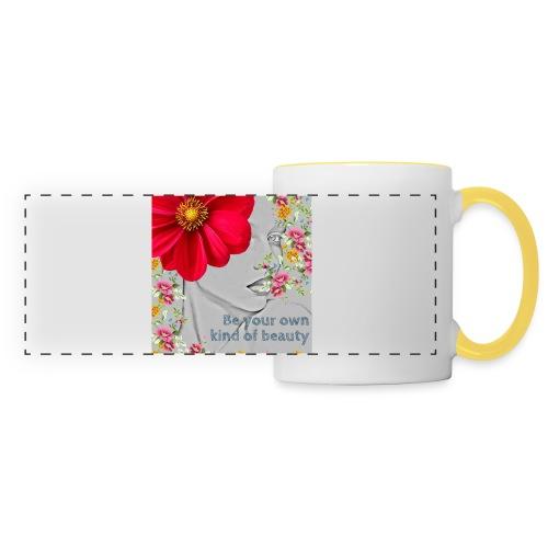 Girly - Mug panoramique contrasté et blanc