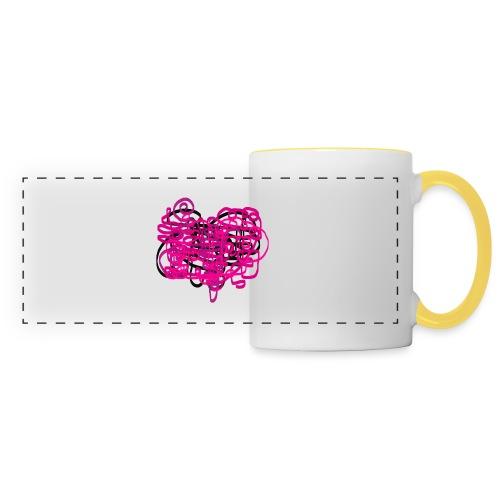 delicious pink - Panoramic Mug