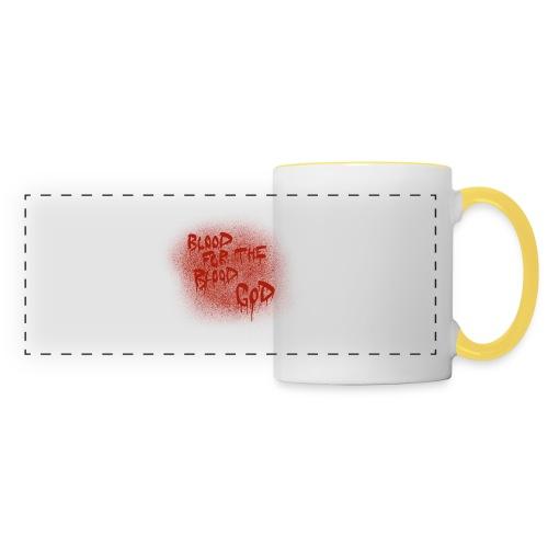 Blood For The Blood God - Panoramic Mug