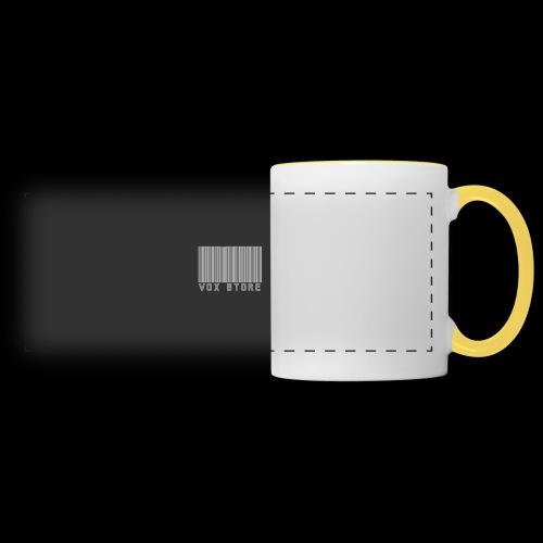 Vox' - Mug panoramique contrasté et blanc