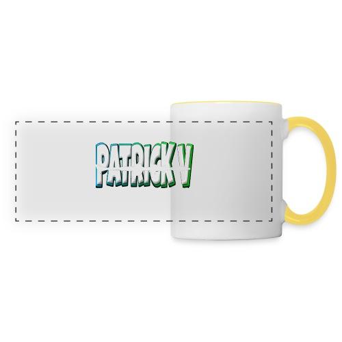 Patrick V Name - Panoramic Mug
