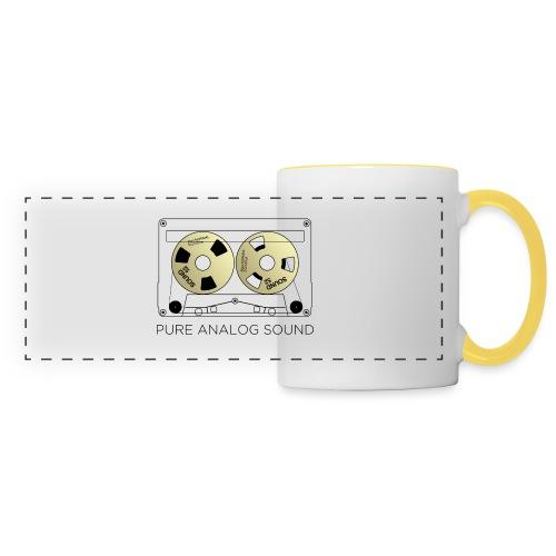 Reel gold cassette white - Panoramic Mug