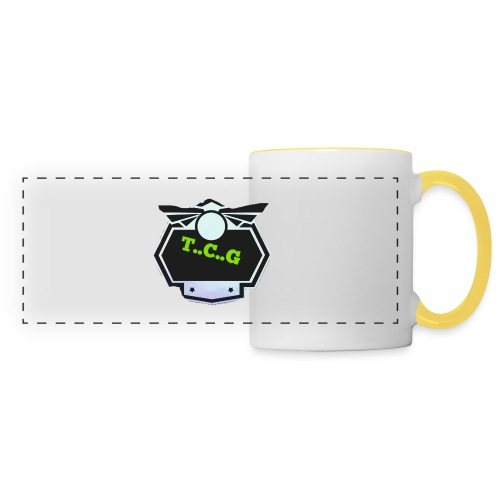 Cool gamer logo - Panoramic Mug