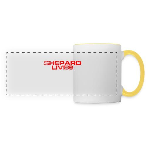 Shepard lives - Panoramic Mug